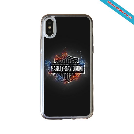 Coque silicone Huawei Mate 20 Fan de Rugby Clermont Géometrics