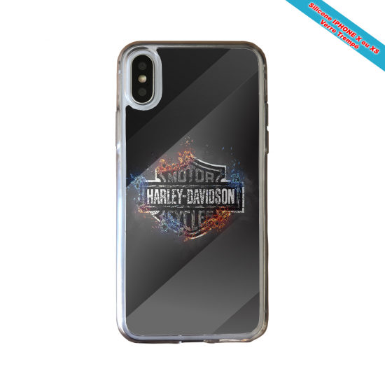 Coque silicone Huawei Mate 20 LITE Fan de Rugby Clermont Géometrics
