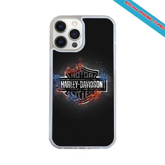 Coque silicone Huawei P20 LITE 2019 Fan de Rugby Clermont Géometrics