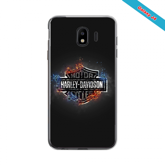 Coque silicone Iphone XS MAX Fan de Rugby Lyon Géometrics
