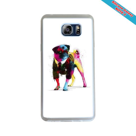 Coque silicone Iphone 12 PRO Fan de Rugby Montpellier Géometrics