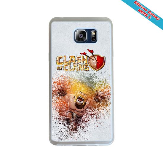 Coque silicone Galaxy J4 2018 Fan de Rugby Montpellier Géometrics