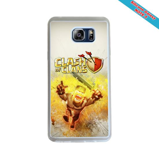 Coque silicone Galaxy J5 2016 Fan de Rugby Montpellier Géometrics