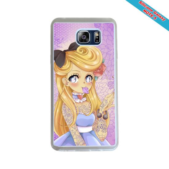 Coque Silicone Galaxy S7 EDGE Fan de Rugby Montpellier Géometrics