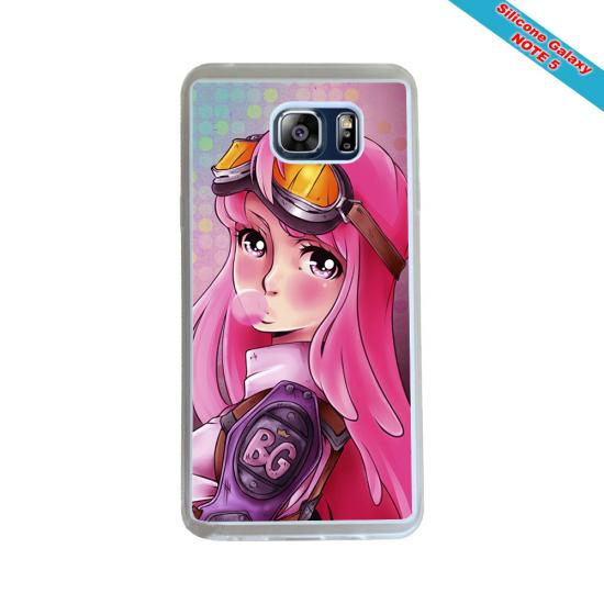 Coque Silicone Galaxy S8 Fan de Rugby Montpellier Géometrics