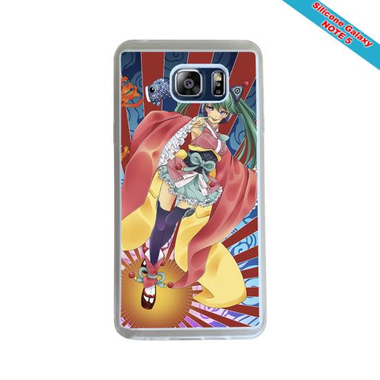 Coque Silicone Galaxy S8 PLUS Fan de Rugby Montpellier Géometrics