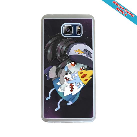 Coque Silicone Galaxy S9 PLUS verre trempé Fan de Rugby Montpellier Géometrics