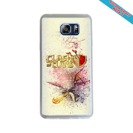 Coque silicone Huawei Mate 10 Fan de Rugby Montpellier Géometrics