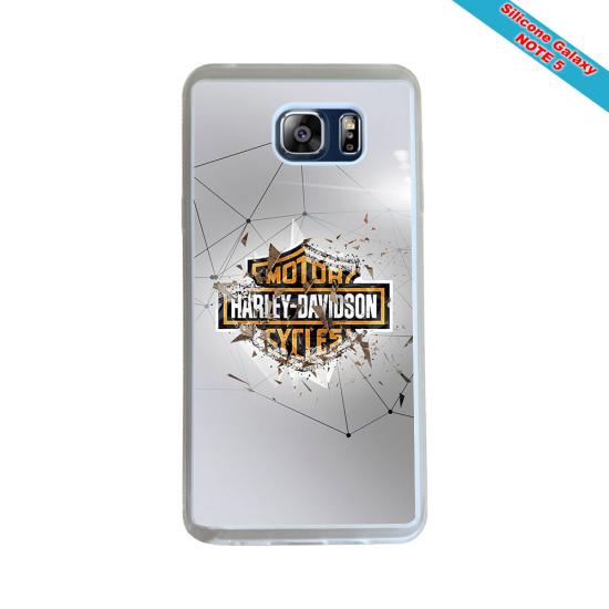 Coque Silicone Galaxy S8 PLUS Fan de Rugby Paris Géometrics