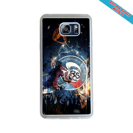 Coque silicone Iphone XS MAX Verre Trempé Fan de Rugby Pau Géometrics