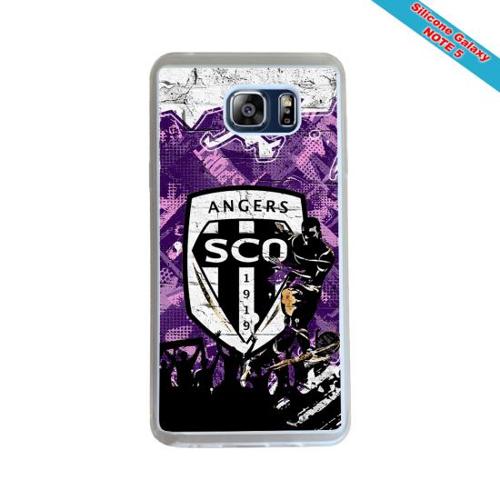 Coque silicone Iphone 11 Pro Fan de Rugby Pau Géometrics