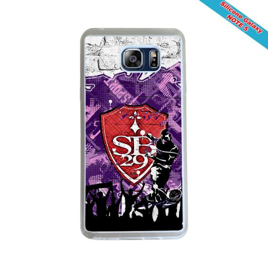 Coque silicone Iphone 11 Pro Max Fan de Rugby Pau Géometrics