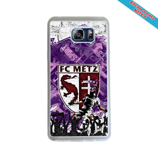 Coque silicone Iphone 12 PRO Fan de Rugby Pau Géometrics