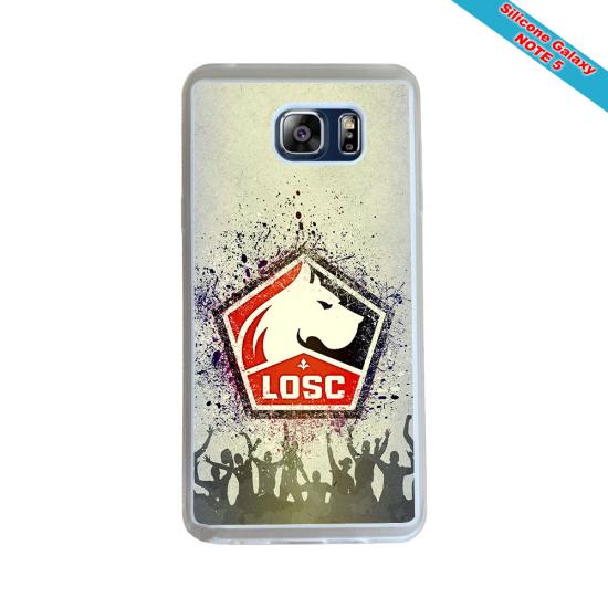 Coque Silicone Galaxy S7 EDGE Fan de Rugby Pau Géometrics