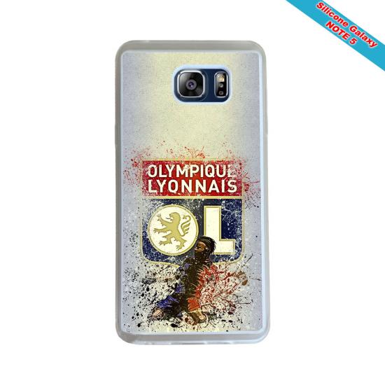 Coque Silicone Galaxy S8 Fan de Rugby Pau Géometrics