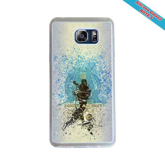 Coque Silicone Galaxy S8 PLUS Fan de Rugby Pau Géometrics