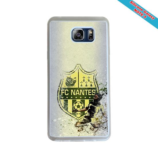 Coque Silicone Galaxy S9 PLUS verre trempé Fan de Rugby Pau Géometrics