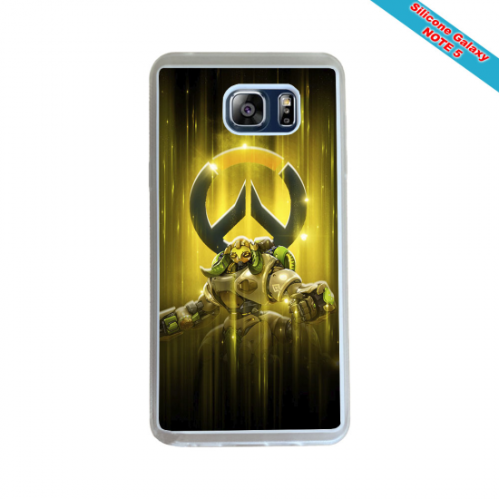 Coque silicone Iphone 6 PLUS Fan de Rugby Racing 92 Géometrics