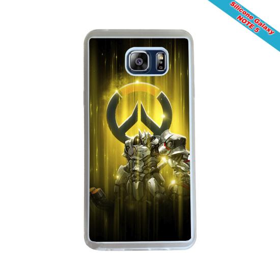 Coque Silicone iphone 7/8 Fan de Rugby Racing 92 Géometrics