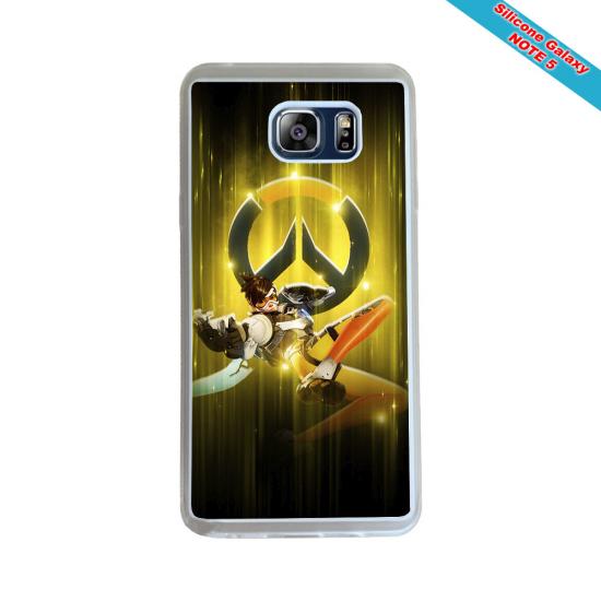 Coque silicone Iphone XR Fan de Rugby Racing 92 Géometrics
