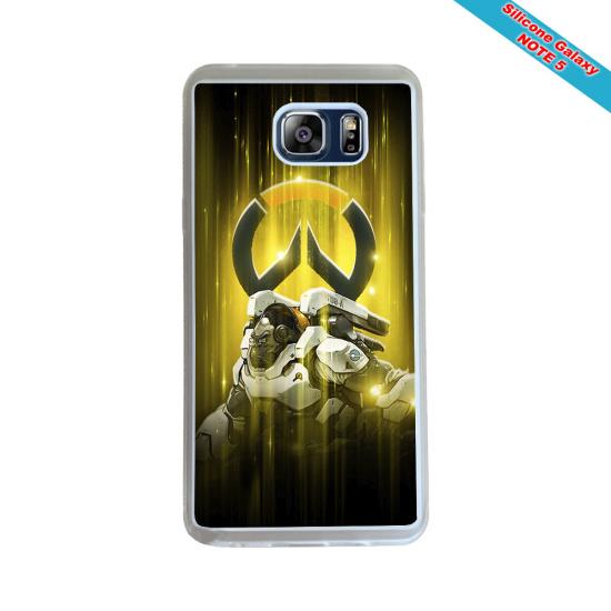 Coque silicone Iphone XR Verre Trempé Fan de Rugby Racing 92 Géometrics