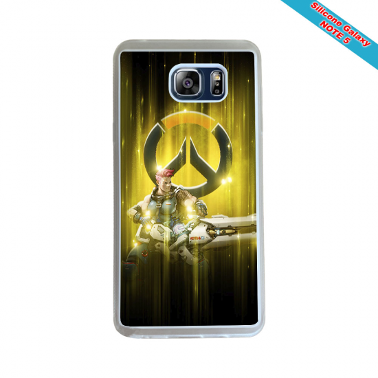 Coque silicone Iphone XS MAX Fan de Rugby Racing 92 Géometrics