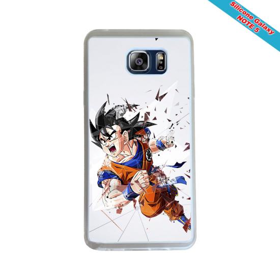 Coque silicone Iphone 11 verre trempé Fan de Rugby Racing 92 Géometrics