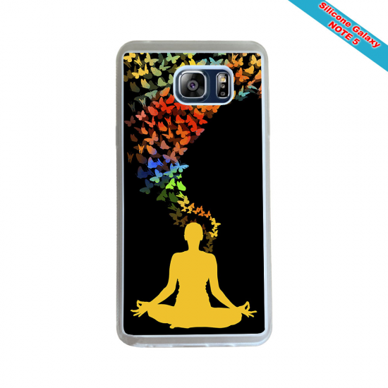 Coque silicone Iphone 11 Pro verre trempé Fan de Rugby Racing 92 Géometrics