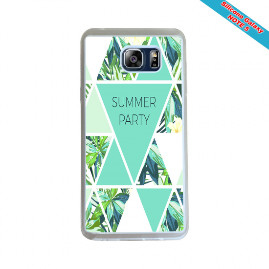 Coque silicone Iphone 11 Pro Max Fan de Rugby Racing 92 Géometrics