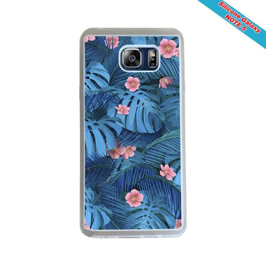 Coque silicone Iphone 12 Fan de Rugby Racing 92 Géometrics