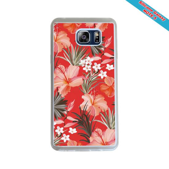 Coque silicone Iphone 12 PRO Fan de Rugby Racing 92 Géometrics