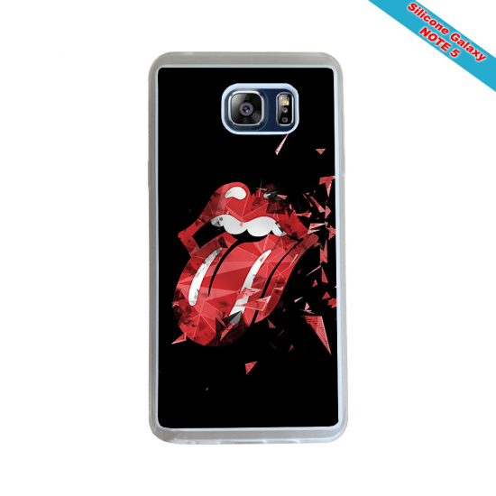 Coque silicone Iphone 12 PRO MAX Fan de Rugby Racing 92 Géometrics