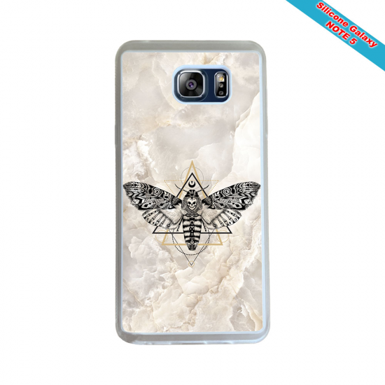 Coque silicone Galaxy A51 Fan de Rugby Racing 92 Géometrics