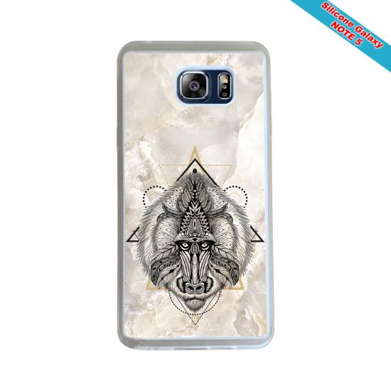 Coque silicone Galaxy A70 Fan de Rugby Racing 92 Géometrics