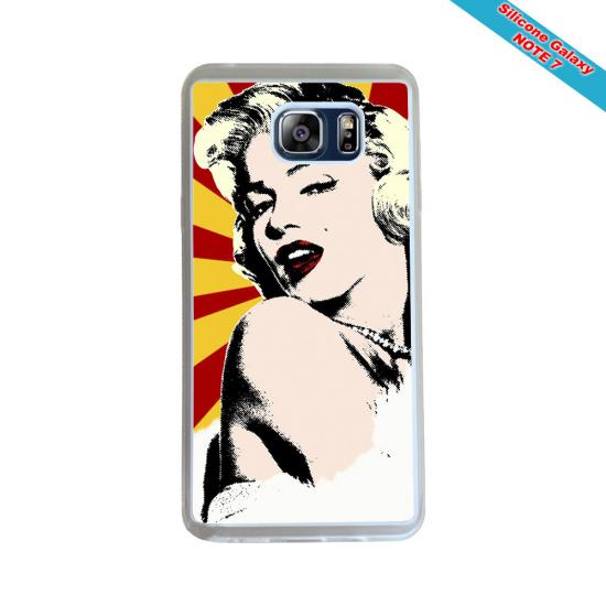 Coque silicone Iphone XS MAX Verre Trempé Fan de Rugby La Rochelle Géometrics