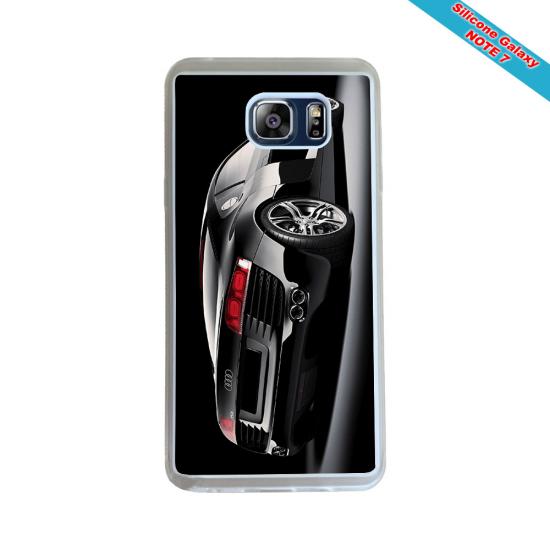 Coque silicone Iphone 11 Pro verre trempé Fan de Rugby La Rochelle Géometrics