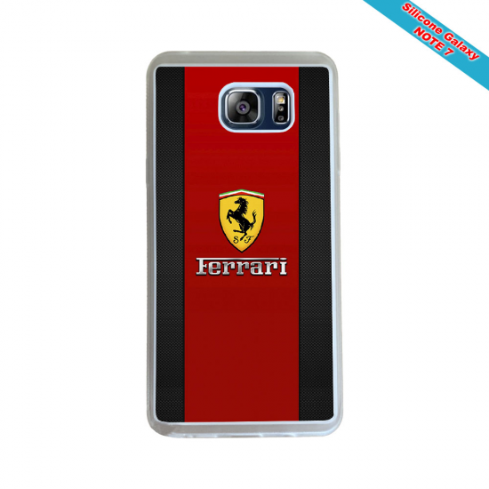 Coque Silicone Galaxy S7 EDGE Fan de Rugby La Rochelle Géometrics
