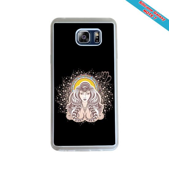 Coque silicone Iphone 11 Pro verre trempé Fan de Rugby Toulon Géometrics