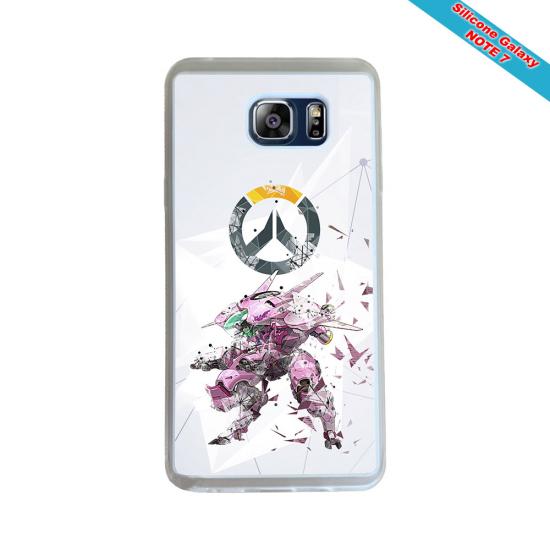 Coque Silicone Galaxy S6 EDGE Fan de Rugby Toulon Géometrics