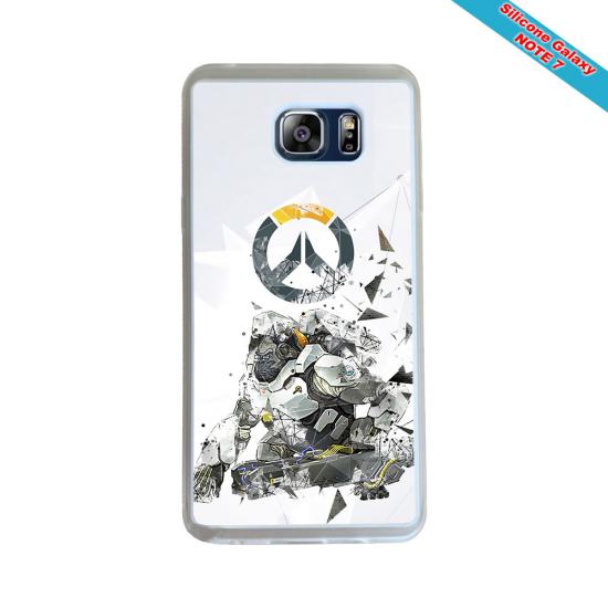Coque Silicone Galaxy S8 PLUS Fan de Rugby Toulon Géometrics