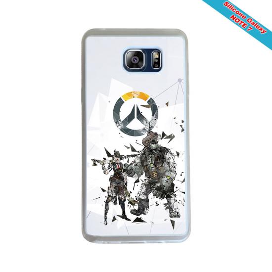 Coque Silicone Galaxy S9 PLUS Fan de Rugby Toulon Géometrics