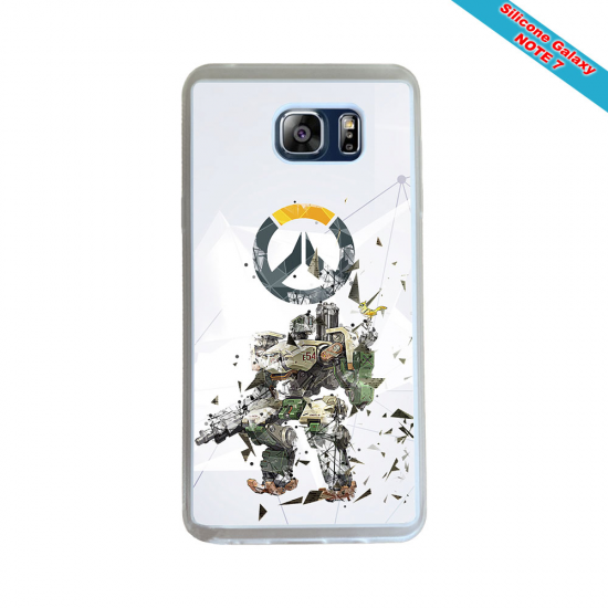 Coque Silicone Galaxy S9 PLUS verre trempé Fan de Rugby Toulon Géometrics