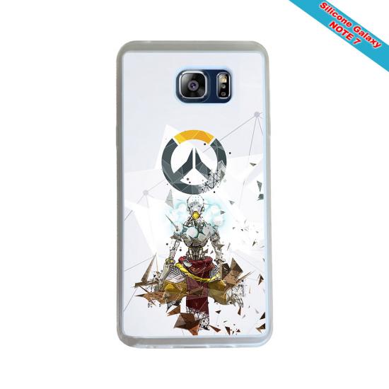 Coque silicone Huawei Mate 10 LITE Fan de Rugby Toulon Géometrics