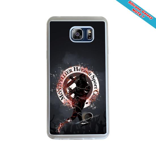 Coque silicone Huawei P20 LITE 2019 Fan de Rugby Toulon Géometrics