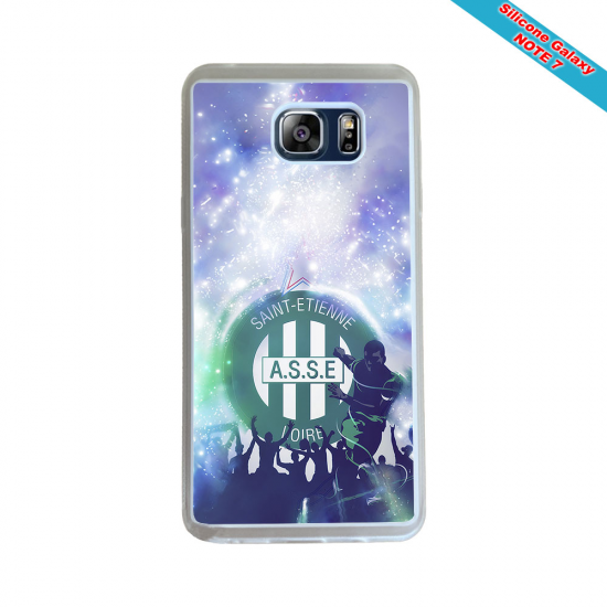 Coque Silicone Galaxy S20 ULTRA Fan de Rugby Toulouse Géometrics