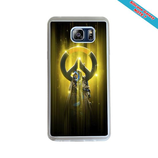 Coque Silicone iphone 7/8 PLUS Fan de Rugby Agen Destruction