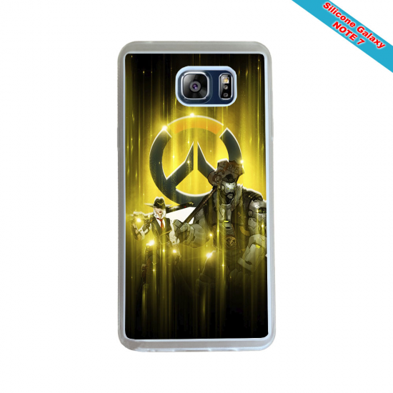 Coque silicone Iphone X/XS Fan de Rugby Agen Destruction