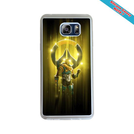 Coque silicone Iphone X/XS verre trempé Fan de Rugby Agen Destruction