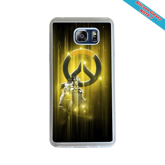 Coque silicone Iphone SE 2020 Fan de Rugby Agen Destruction