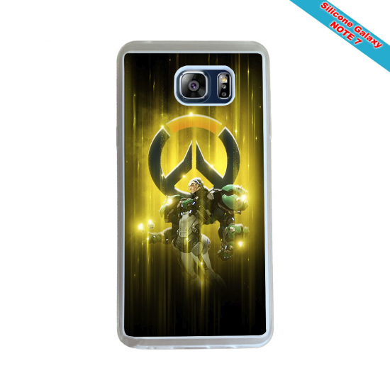 Coque silicone Galaxy A20E Fan de Rugby Agen Destruction